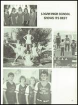 1987 Logan High School Yearbook Page 28 & 29