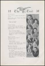1930 Arlington High School Yearbook Page 16 & 17