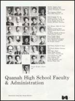 1992 Quanah High School Yearbook Page 12 & 13