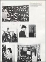 1992 Quanah High School Yearbook Page 20 & 21