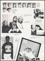 1992 Quanah High School Yearbook Page 22 & 23