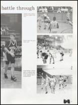 1992 Quanah High School Yearbook Page 50 & 51