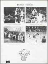 1992 Quanah High School Yearbook Page 54 & 55