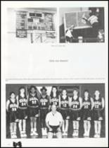 1992 Quanah High School Yearbook Page 56 & 57