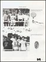 1992 Quanah High School Yearbook Page 58 & 59