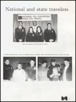 1992 Quanah High School Yearbook Page 70 & 71