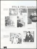 1992 Quanah High School Yearbook Page 72 & 73