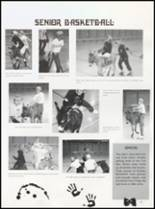 1992 Quanah High School Yearbook Page 100 & 101