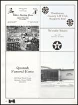 1992 Quanah High School Yearbook Page 160 & 161