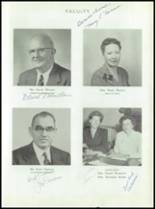 1955 Taunton High School Yearbook Page 10 & 11