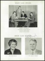 1955 Taunton High School Yearbook Page 16 & 17