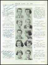 1955 Taunton High School Yearbook Page 18 & 19