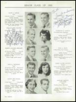 1955 Taunton High School Yearbook Page 22 & 23