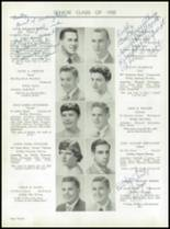 1955 Taunton High School Yearbook Page 24 & 25