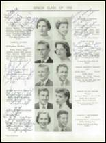 1955 Taunton High School Yearbook Page 26 & 27