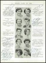 1955 Taunton High School Yearbook Page 30 & 31