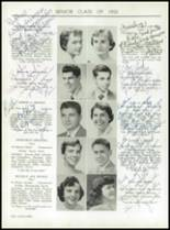 1955 Taunton High School Yearbook Page 32 & 33
