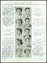 1955 Taunton High School Yearbook Page 34 & 35