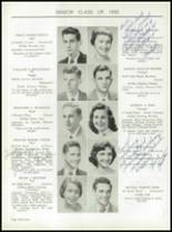 1955 Taunton High School Yearbook Page 36 & 37