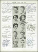 1955 Taunton High School Yearbook Page 38 & 39