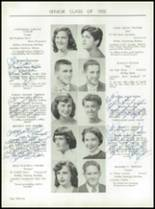 1955 Taunton High School Yearbook Page 40 & 41