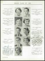1955 Taunton High School Yearbook Page 42 & 43
