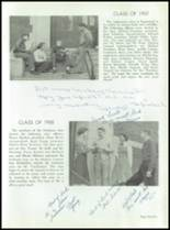 1955 Taunton High School Yearbook Page 48 & 49