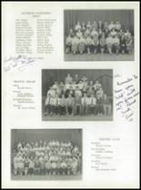 1955 Taunton High School Yearbook Page 56 & 57