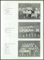 1955 Taunton High School Yearbook Page 58 & 59
