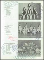 1955 Taunton High School Yearbook Page 62 & 63
