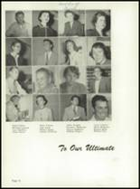 1955 Yuma Union High School Yearbook Page 20 & 21