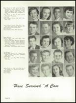 1955 Yuma Union High School Yearbook Page 32 & 33