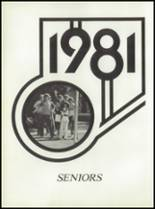 1981 Pioneer-Westfield High School Yearbook Page 16 & 17