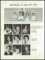 1981 Pioneer-Westfield High School Yearbook Page 18 & 19