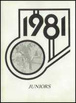 1981 Pioneer-Westfield High School Yearbook Page 34 & 35