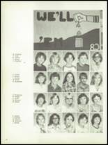 1981 Pioneer-Westfield High School Yearbook Page 38 & 39