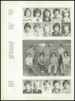 1981 Pioneer-Westfield High School Yearbook Page 42 & 43
