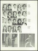 1981 Pioneer-Westfield High School Yearbook Page 44 & 45
