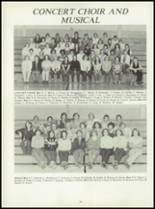 1981 Pioneer-Westfield High School Yearbook Page 58 & 59