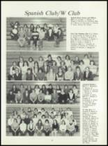 1981 Pioneer-Westfield High School Yearbook Page 60 & 61