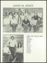 1981 Pioneer-Westfield High School Yearbook Page 62 & 63