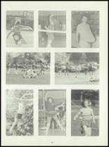 1981 Pioneer-Westfield High School Yearbook Page 72 & 73