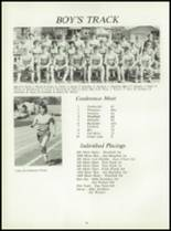 1981 Pioneer-Westfield High School Yearbook Page 74 & 75