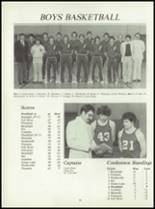 1981 Pioneer-Westfield High School Yearbook Page 90 & 91