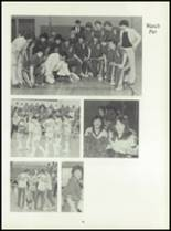 1981 Pioneer-Westfield High School Yearbook Page 92 & 93