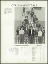 1981 Pioneer-Westfield High School Yearbook Page 94 & 95