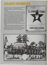 1987 Vidor High School Yearbook Page 20 & 21