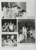 1987 Vidor High School Yearbook Page 40 & 41