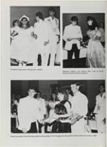 1987 Vidor High School Yearbook Page 42 & 43