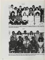 1987 Vidor High School Yearbook Page 102 & 103